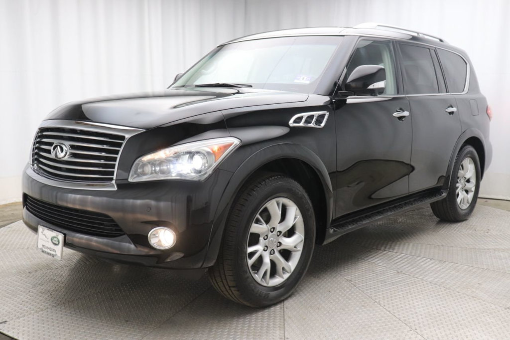 Pre-Owned 2011 INFINITI QX56 4WD 4dr 8-passenger