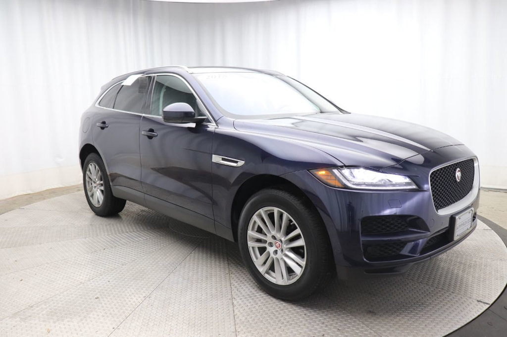 Certified Pre-Owned 2018 Jaguar F-PACE SUV 25T PRESTIGE AWD All Wheel Drive SUV