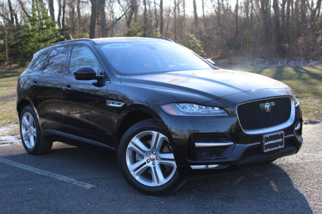 Pre-Owned 2018 Jaguar F-PACE 4DR SUV R-SPORT AWD