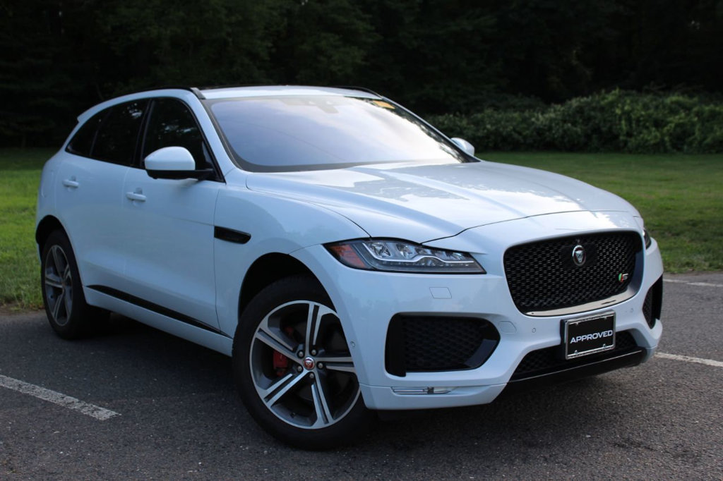 Certified Pre-Owned 2017 Jaguar F-PACE S AWD All Wheel Drive SUV