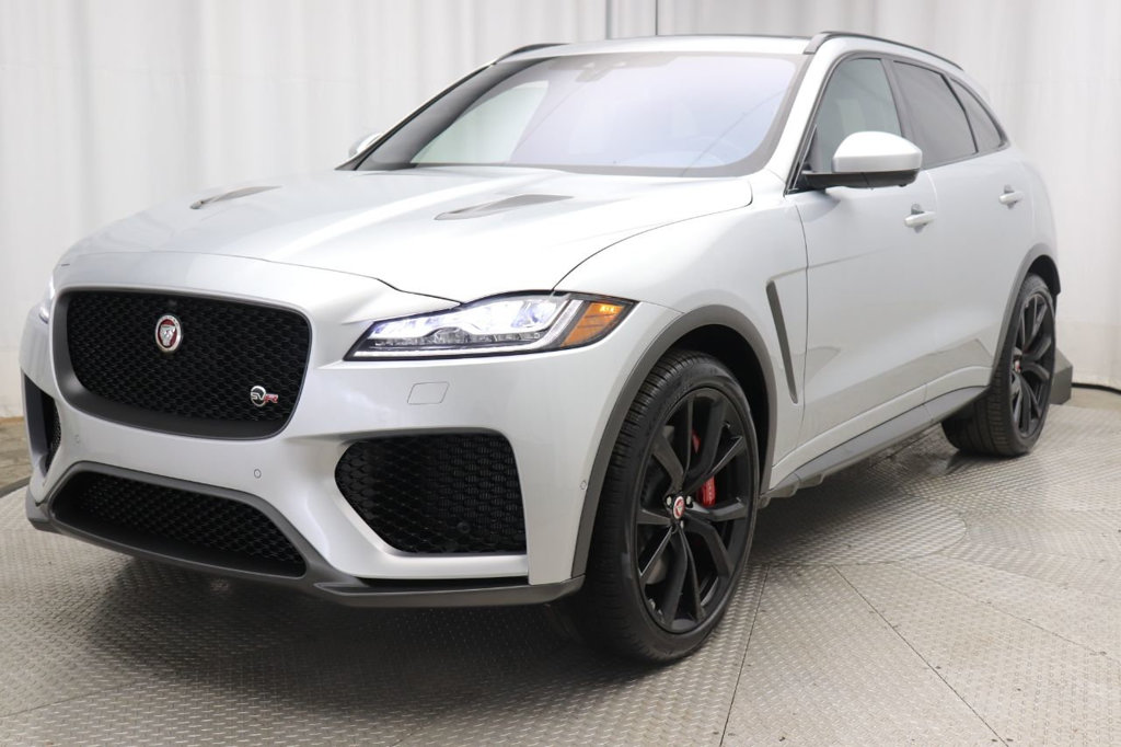 New 2020 Jaguar F-PACE SVR AWD With Navigation