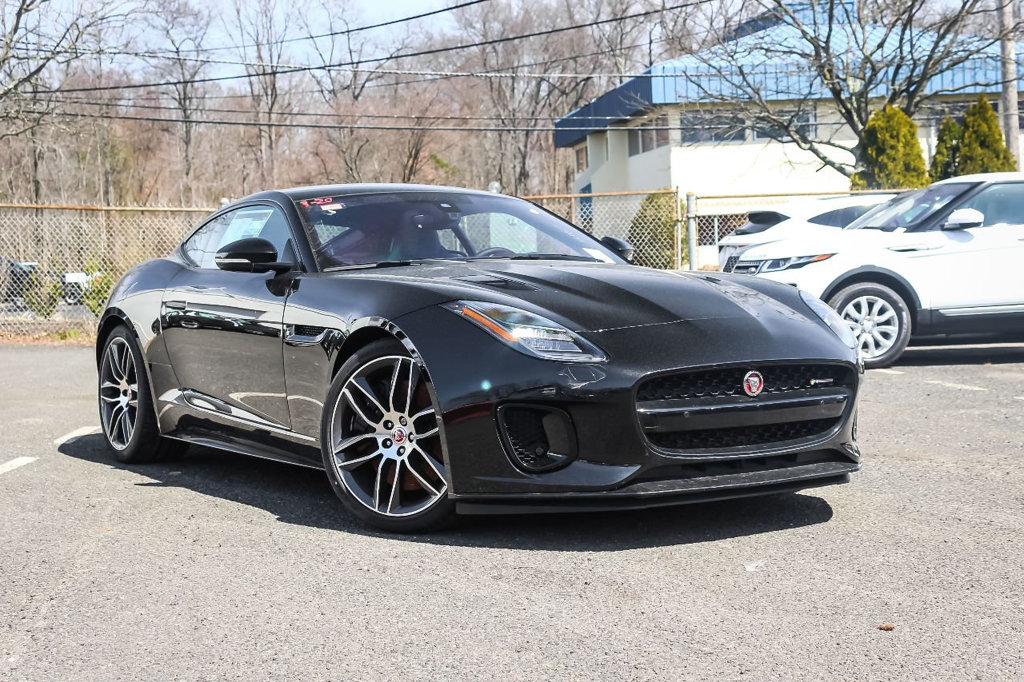 New 2018 Jaguar F TYPE CPE 2DR CPE AT R DYN AWD