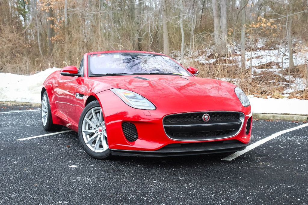 New 2018 Jaguar F-TYPE Convertible