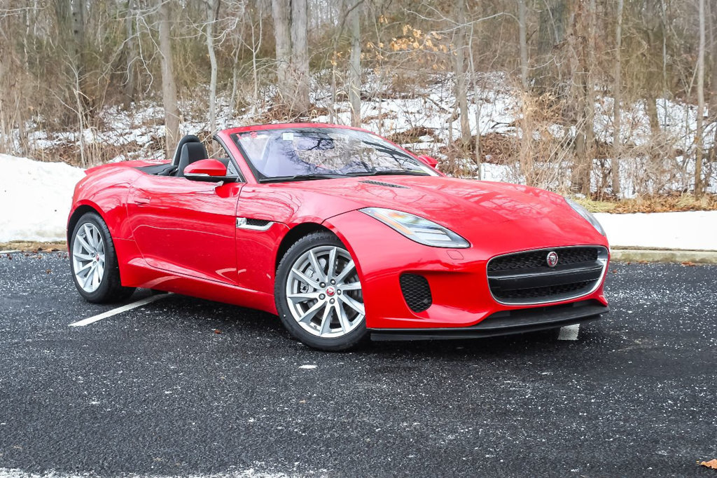New 2018 Jaguar F TYPE Convertible Automatic 340HP