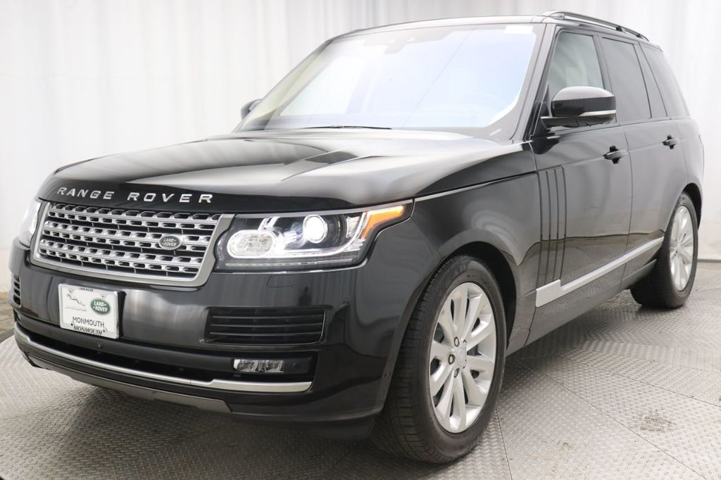 Pre-Owned 2017 Land Rover Range Rover V6 Supercharged HSE SWB